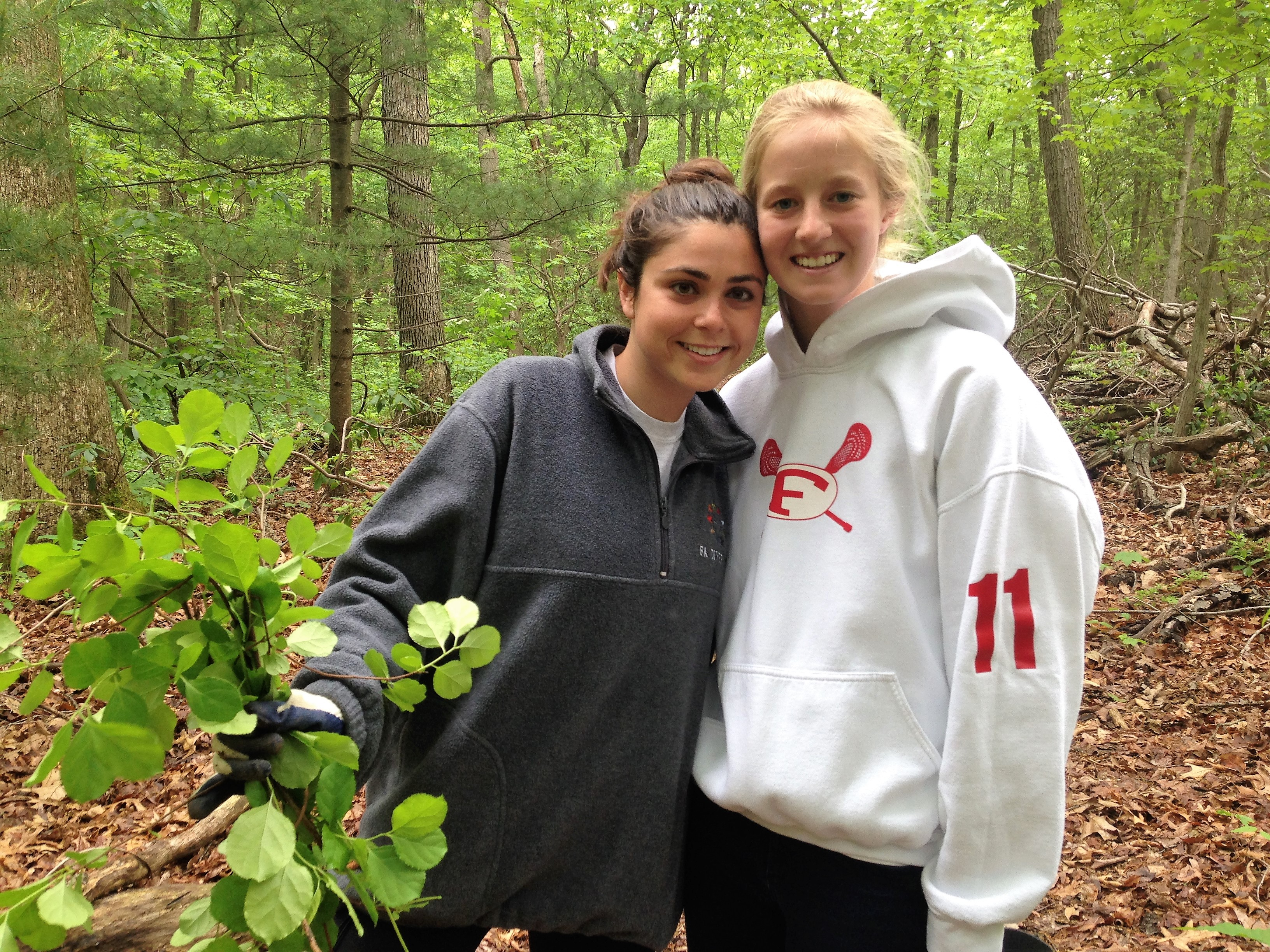 Friends Academy Students Completer their Senior Year Project with the Land Alliance